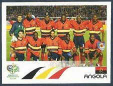PANINI FIFA WORLD CUP-GERMANY 2006- #302-ANGOLA TEAM PHOTO