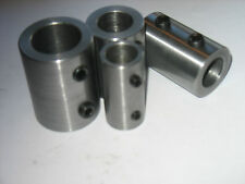 "Shaft Coupling  Steel    1 1/2"" OD  X 1 "" ID   X  3 "" Long  (4 Set Screws) 1 Pc"
