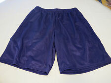 Francis Sporting Mens XL Baseball Softball basketball Shorts mesh purple NOS