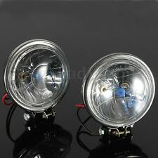 "2x 12V 3.5"" 100W CAR MOTORCYCLE DRIVING FOG LIGHT HEADLIGHT REVERSE LAMP DC 12V"