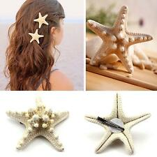Fashion Women's Hair Clip Beach Holiday Hairpin Gorgeous Hair Decor Accessory