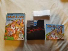NOAH'S ARK Nintendo NES game Konami Complete PAL B