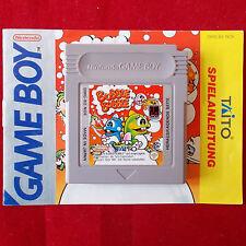 Nintendo Gameboy ► Bubble Bobble ◄ Modul + Anleitung