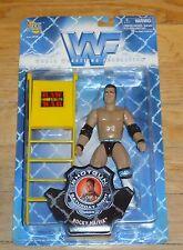 1998 WWF WWE Jakks The Rock Dwayne Johnson Wrestling Figure MOC Shotgun Series