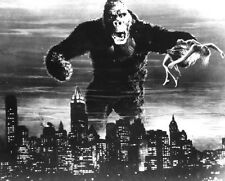 King Kong Classic Vintage  Poster QUALITY Canvas Art Print A4