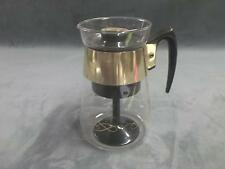 Previously owned vintage french press coffee maker breakfast kitchen dishes cafe