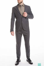 RRP €499 SCOTCH & SODA Size 52 / L Men's 32269 100% Wool Skinny Suit - POPPRI