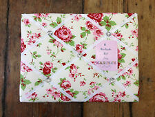Cath Kidston Ikea Rosali Fabric memo/Notice Board 30x40cm pretty shabby chic New