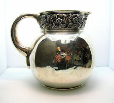 """ANTIQUE TIFFANY & CO. STERLING SILVER PITCHER - """"M"""" MARK - 438.25 GRAMS - NICE"""