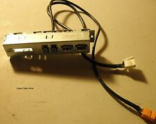 HP Pro 3500 USB / Audio Front I/O Panel w/ Cables 657122-002
