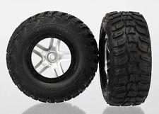 Traxxas Reifen auf Felge KUMHO Slash 4x4 schw/satin #TRX6874