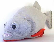 "12"" Amazon Red Bellied Piranha Plush Stuffed Animal Toy"