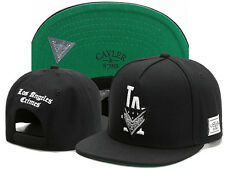 Men LA CAYLER SONS Snapback Adjustable Baseball Cap Hip hop Women Black SUN Hat