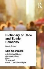 Dictionary of Race and Ethnic Relations-ExLibrary