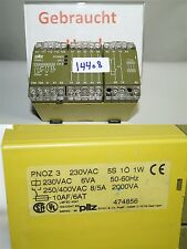 PILZ PNOZ 3 Dispositivo interruttore di sicurezza 474856
