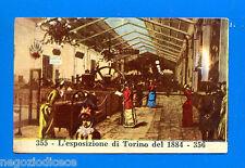CENTENARIO UNITA D'ITALIA - Figurina-Sticker n. 355-356 - TORINO 1884 -Rec