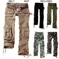 Womens Trousers Army Military Ladies Casual Cargo Pants Ladies Loose Pockets
