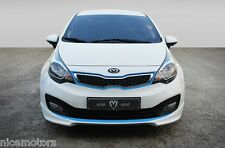 Aero Parts Front Lip Unpainted For KIA RIO PRIDE Rio 4 2012 2013 2014 2015