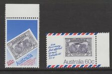 AUSTRALIA 1981 50th ANNIVERSARY UK AIRMAIL  SERVICES - Both Stamps MNH