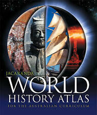 Jacaranda World History Atlas for the Australian Curriculum by Jacaranda (Paperb
