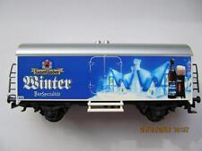 märklin Bierwagen SoMo Sauerländer Winter Bier schöner Wagen 94119 mit DC Achsen
