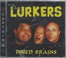 THE LURKERS - FRIED BRAINS - (still sealed cd) - AHOY CD 301