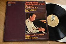 KURT LEIMER Tschaikowsky Gershwin piano concerto  LP EMI C 063-29093