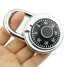 Latest 3-Dial Combination Password Padlock Security Cable Suitcase Luggage Lock