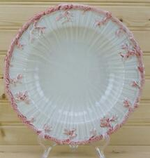 Fitz & Floyd Oceana Rimmed Soup Bowl 1977 Pink Coral Edge DISCONTINUED USA EUC