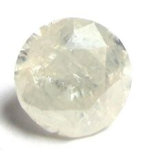 1.09 Carats WHITE Natural ROUND BRILLIANT CUT POLISHED DIAMONDS