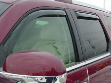 2001 - 2005 Ford Explorer Sport Trac In-Channel 4Piece Visor Wind Deflector