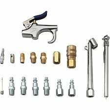 Campbell Hausfeld MP2847 17-pc 1/4-in Air Compressor Tool And Accessory Kit NEW