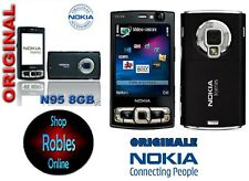 Nokia N95 8GB Black (Ohne Simlock) Smartphone WIFI 3G 5MP GPS MADE FINLAND GUT