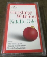 Hallmark Natalie Cole Christmas With You 12 track CASSETTE TAPE NEW!!