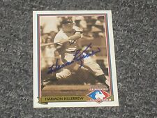 Harmon Killebrew Autographed Baseball Card  PSA Precertified