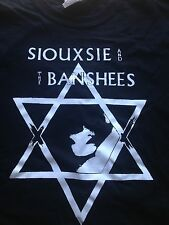 Siouxsie and the banshees star dead stock shirt sale adult medium