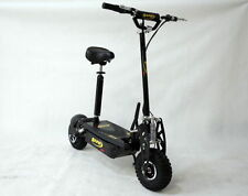 1600W 48V Foldable Electric Scooter 4x12V/12Ah Battery,Brushless Motor 10'' Cros
