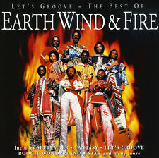 Earth Wind And Fire LET'S GROOVE Best Of 17 Song Collection NEW SEALED CD