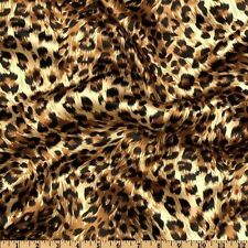 "250 Leopard Chair Cover Sash Bows 6""X108"" Satin Safari Animal Print Cheetah"
