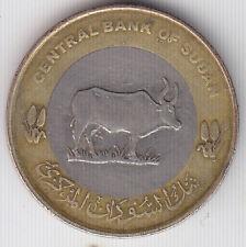 S udn - Twenty Five ( 25 ) Piastres Bimetallic Coin -Ankole Bull