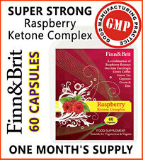FINN & BRIT SUPER-STRONG Raspberry Ketone Complex Plus Rasberry Keytone Keytones