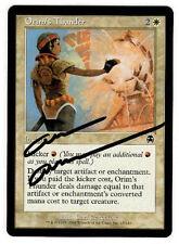 Magic the Gathering MTG Apocalypse ORIM'S THUNDER Carl Critchlow AUTOGRAPH (b)