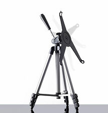 Golf Tripod with iPad adapter clip, portable for Analyzer Apps & swing trainers