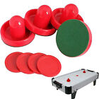 4pcs 96mm Air Hockey Table Goalies with 4pcs 63mm Puck Felt Pusher Mallet Grip
