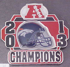 DENVER BRONCOS 2013 AFC CHAMPIONS PIN  SUPER BOWL 48