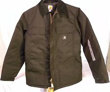 NEW CARHARTT EXTREMES Men's Small Black Nylon Artic Cold Weather Coat Jacket NWT