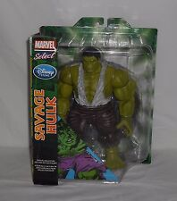 New Disney Marvel Select Savage Hulk Special Collector Edition Action Figure 10""