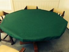 Poker Felt Table cloth - felt table cover MADE TO ORDER  Majhong dice card game