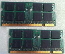 Dell Inspiron 1501 Ram Memory Used DDR2 PC2 2 X 512MB = 1 GB 1GB
