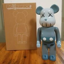 Kaws Bearbrick 400% Grey Replica Figure
